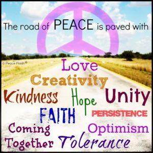 Stuff my brain thinks about peace