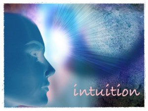 Definition of Intuition:  direct perception of truth, fact, etc., independent of any reasoning process; immediate apprehension.