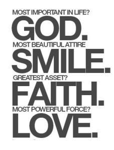 stuff my brain thinks god love