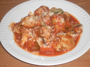 Turkey Meatballs Mushrooms & Marinara